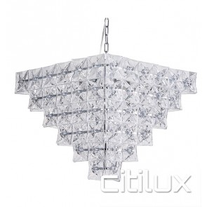 Haminda 8 Lights Chandelier Chrome Citilux