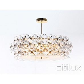 Marion 8 Lights Pendant Gold Citilux