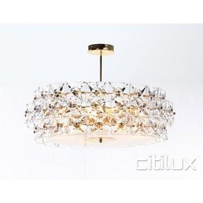 Marion 8 Lights Pendant Gold Citilux