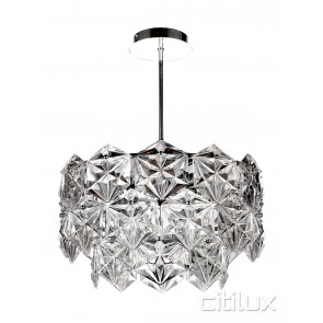 Mirka 6 Lights Pendant Chrome Citilux