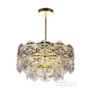 Mirka 6 Lights Pendant Gold Citilux