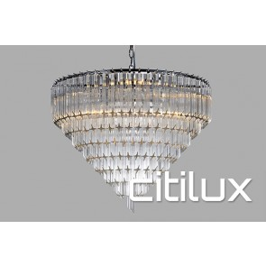 Moki 6 Lights Chandelier Citilux