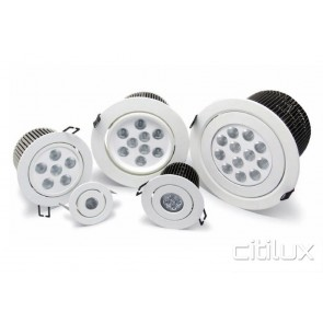 Phoenix 10W Adjustable LED Downlights