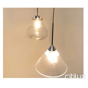 Clarity Cone Pendant light