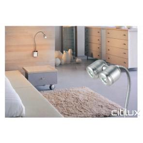 Intron 2.4W Gooseneck LED Wall Light