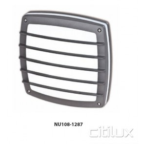 Nutech Square with Grill Wall Light