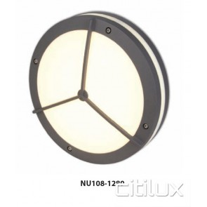 Nutech Round with Grill Wall Light