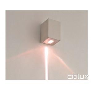 Lexidex Rectangle 75mm  Down Wall Light
