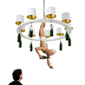 Replica Happy Hour chandelier - 9 Lights - Pendant Light - Citilux