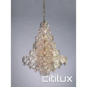 Tiffani 12 Lights Pendant Rose Gold Citilux