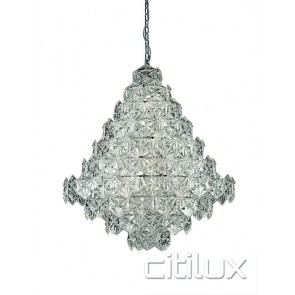 Tiffani 17 Lights Pendant Chrome Citilux