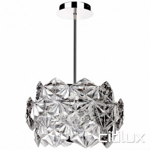 Vera 6 Lights Pendant Chrome Citilux