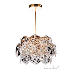 Vera 6 Lights Pendant Rose Gold Citilux